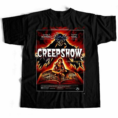 Creepshow T shirt film movie horror scary sci fi Japanese Chinese Stephen King