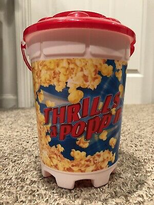 2018 Six Flags Great America Popcorn Bucket - ONLY USED ONCE!