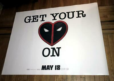 DEADPOOL 2 5FT SUBWAY MOVIE POSTER 2018  MARVEL Ryan Reynolds X-MEN