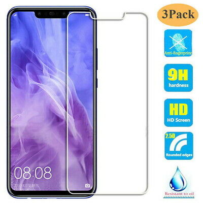 Clear Tempered Glass Screen Protector For Huawei P30 Lite P Smart 2019 Nova 4
