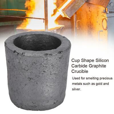 Graphite Furnace Casting Foundry Crucible Melting Ingot Tool 1kg for Gold Silver