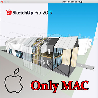 SketchUp Pro 2019 Mac - Lifetime Software Activation - 24h delivery Maximum ✔️✔️