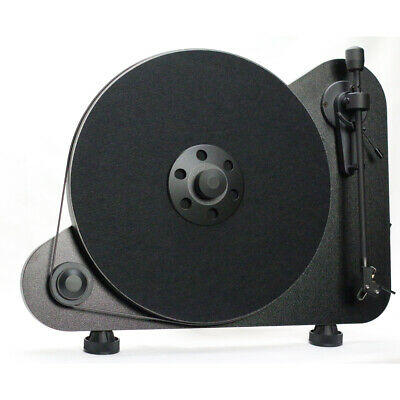 Pro-Ject VTE Vertical Turntable with OM5 Cartridge Right Handed Black FREE VINYL