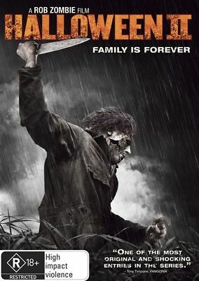 Halloween 2 II : Family Is Forever : NEW DVD : New Old Aus Stock : *RARE OOP*