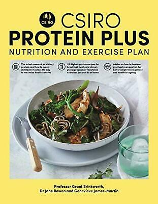 CSIRO Protein Plus by Jane Bowen Paperback Book NEW FREE SHIPPING