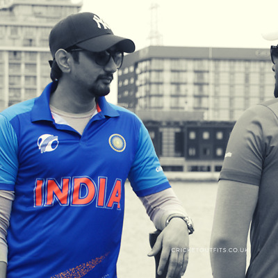 Indian Cricket Fan 2019 World Cup Jersey/T-shirt High Quality Microfibre
