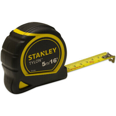 Stanley 5m/16ft Pocket Tape Measure with Tylon Blade 1-30-696