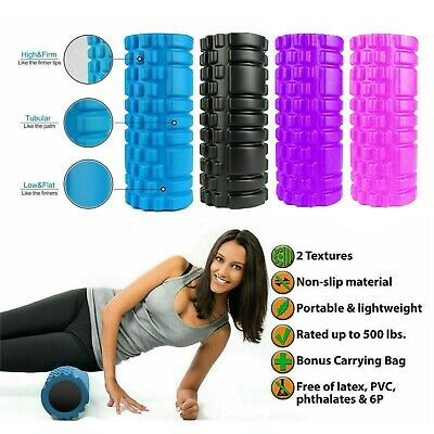 Foam Roller Deep Tissue Muscle Massager. Trigger Point For Yoga,Pilates, Sports