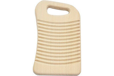 Handcrafted Japanese Cypress Wooden Washboard Hand Wash Laundry Board Small