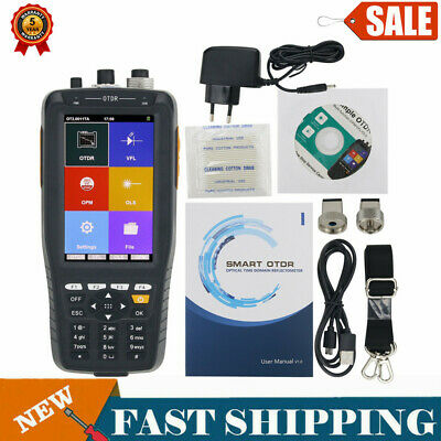 TM290S 60KM Optical Time Domain Reflectometer OTDR VFL OPM OLS Non-Touch Screen