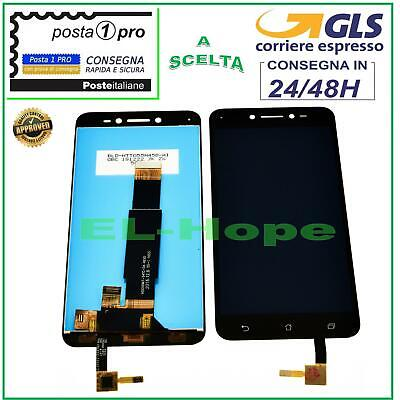 Display Lcd Asus Zenfone Live Zb501Kl A007 Touch Screen Schermo Vetro Nero