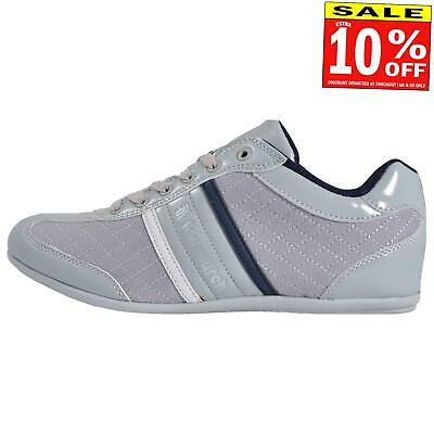 Fenchurch Skrilla Mens Trainers Classic Fashion Designer Shoes Grey