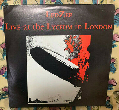 2LP>LED ZEPPELIN/Live At The Lyceum In London <Free Shipping