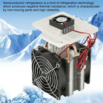 12V 70W Electronic Semiconductor Refrigeration DIY Cooler Cooling System Kit GS