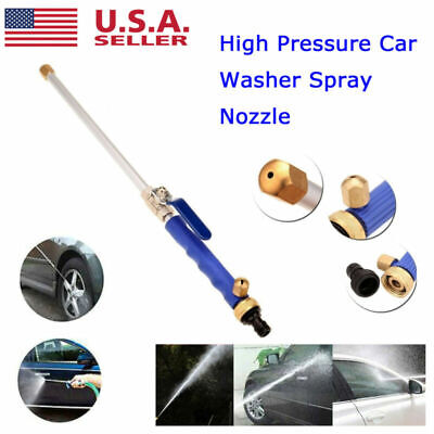 High Pressure Power Washer Water Spray Gun Wand Attachment Jet / Fan Nozzle Tips