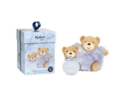 Kaloo Blue Bambino Acqua Profumata 95Ml + Orsetto Peluche  Alcohol Free
