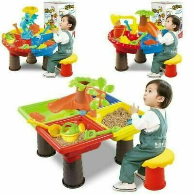 Sand and Water Table Children Summer Beach Toys Baby Play Digging Sandglass Tool