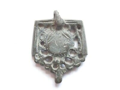 Viking Era Bronze Amulet > Runic Symbols Viking Warriors Relic And To Have A Long Life. Great Save