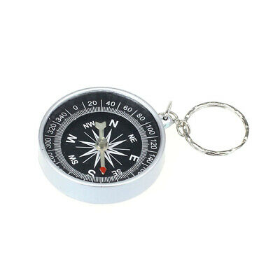 Keychain Outdoor Camping Plastic Compass Hiking Hiker Navigation