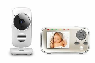 Motorola MBP667 Wi-Fi Connect Video Baby Monitor with Hubble app