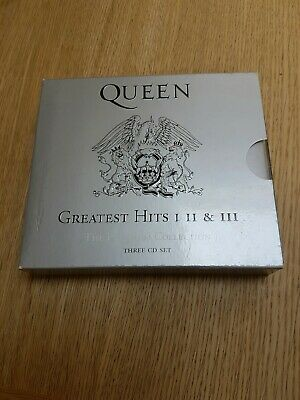 Queen : Greatest Hits I II & III - The Platinum Collection - 3 CD Set