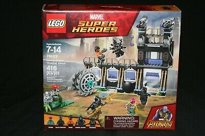 Lego Marvel Super Heroes 76103 Corvus Glaive Thresher Attack (2018) New Sealed