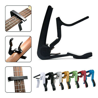 Aluminum Quick Alloy Clamp Change Key Capo For Acoustic Electric Classic Guitar