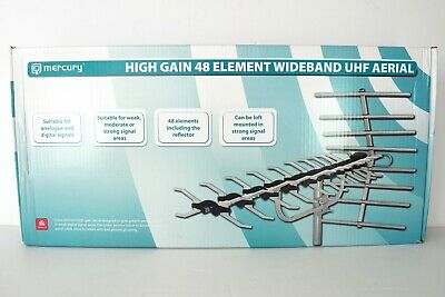 Mercury - Digital Tv Aerial - Large High Gain 48 Element Wideband Uhf Aerial