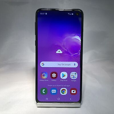 Samsung Galaxy S10e 128GB Prism Black Sprint Very Good Condition