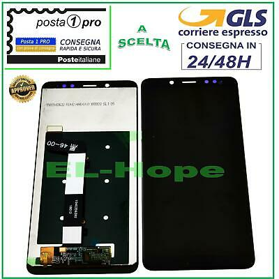 Display Lcd Xiaomi Redmi Note 5 Touch Screen Schermo Monitor Vetro Nero