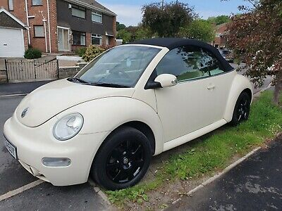 Vw Beetle Convertible - Full Leather Interior - Only 2 Owners - Beautiful