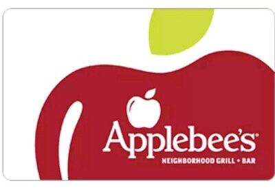 Applebee's Gift Card - $25 - Mail delivery - Physical card