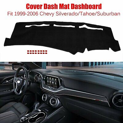 Car Dashboard Pad Dash Cover Mat For 1999-2006 Chevy Silverado/ Tahoe/ Suburban