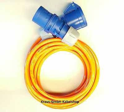 Cee Blue 16A Extension H07BQ-F 3x2, 5 Caravan Cable from 3M Polyurethane