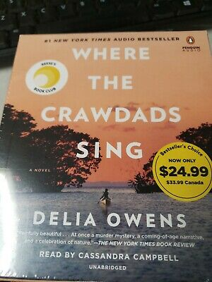 Where the Crawdads Sing by Delia Owens 9780593105412 | Brand New