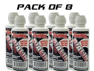 8 Pack Geddex Ged-916 Dial In Window Marker Chalk White Racing Marker 916