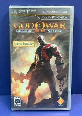GOD OF WAR GHOST OF SPARTA New Y-Fold Seals For Sony Playstation Portable PSP