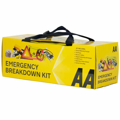 AA Emergency Breakdown & Safety Kit Plus Car Driving European Travel