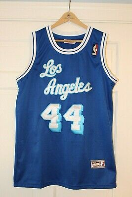 2423d1ad5a3 JERRY WEST LA Lakers 1972 West All Star MITCHELL & NESS Authentic ...