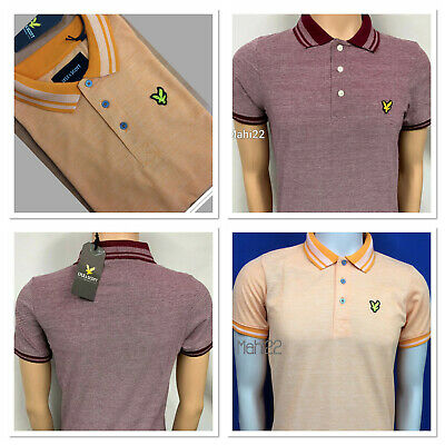 Brand New Lyle And Scott Short Sleeve Oxford Polo Shirt For Men