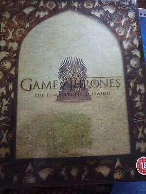 Game Of Thrones Season 5 DVD The Complete Series New & Sealed Boxset UK