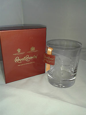 Royal Brierley Crystal Glass Golfer New Boxed