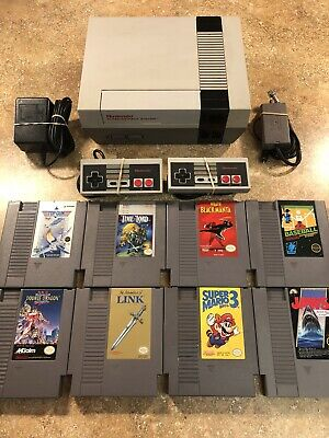 Nintendo NES Console Lot NEW 72 PIN Mario *Cleaned & Tested* FAST FREE SHIPPING!