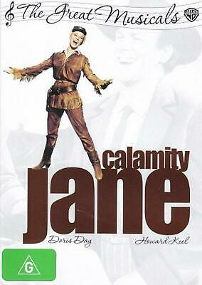 Calamity Jane (1953) (the Great Musicals) - DVD Region 4 Free Shipping!