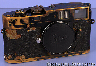 Leica Leitz M2 Lever Black Paint Rangefinder Camera Body Rare Early #949083