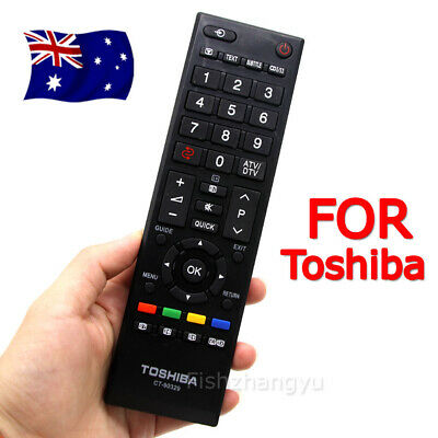 New OEM Toshiba Remote Control CT-90329 LCD RV700A RV600A RV550A TV Replacement