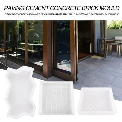 Furniture Free Shipping Rectangle Garden Paving Plastic Mold For Garden Concrete Molds Garden Path Diy Stone Model Shovel 45*40*4 Cm