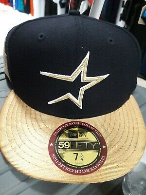 newest 2f96b c12cb Houston Astros New Era 59FIFTY Ultimate Patch Collection Fitted Cap 7 3  4-NWT