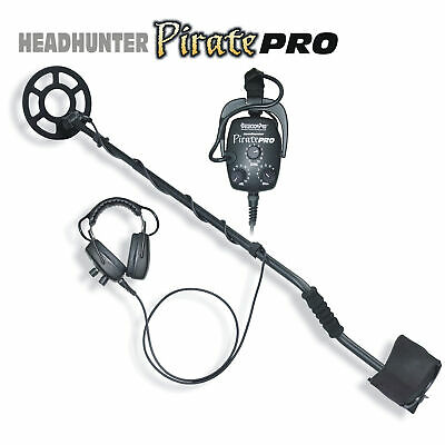 DetectorPro Headhunter PiratePro Metal Detector with Headphones 9008