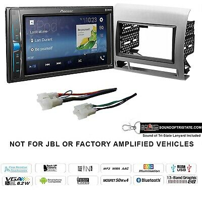 "Pioneer MVH-210EX 6.2"" Digital Media Receiver fits 05-11 Toyota Tacoma (Silver)"